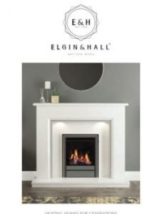 Elgin and hall gas fire brochure