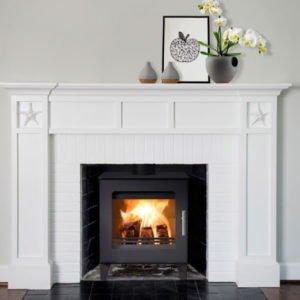 Westfire Uniq 23 multifuel wood burner stove