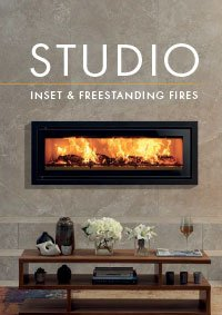 Stovax Studio inset and freestanding stoves brochure