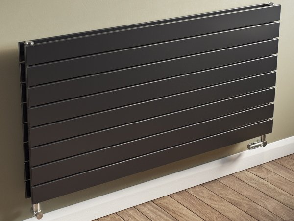 Horizontal coloured radiators