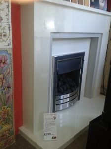 Wildfire Carvello and Timara Marble suite fireplace package £999 + VAT