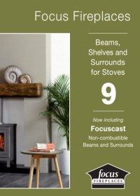 Focus Fireplaces Brochure - beams and wooden surrounds