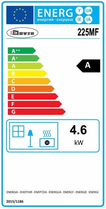 Dovre 225 mf energy label