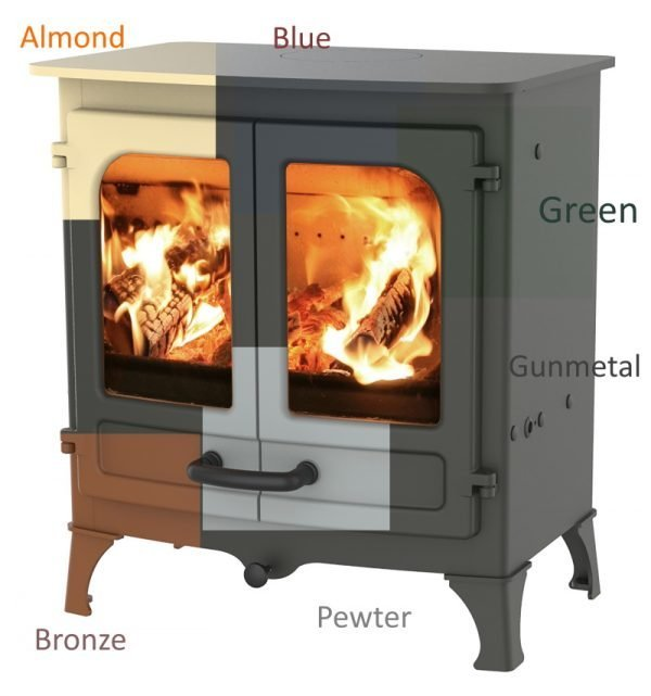 Charnwood Stove colour options
