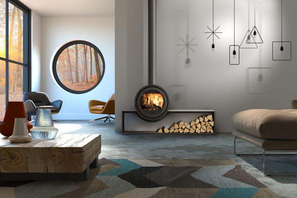 Dik Geurts odin plateau stove woodburner luton bedfordshire