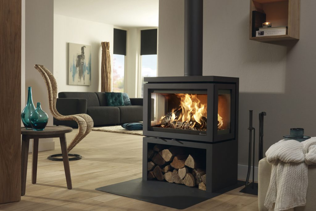Dik Geurst stoves - triple vidar supplied and installed in Luton