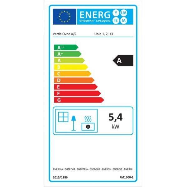 Varde Uniq 1 Energy Label