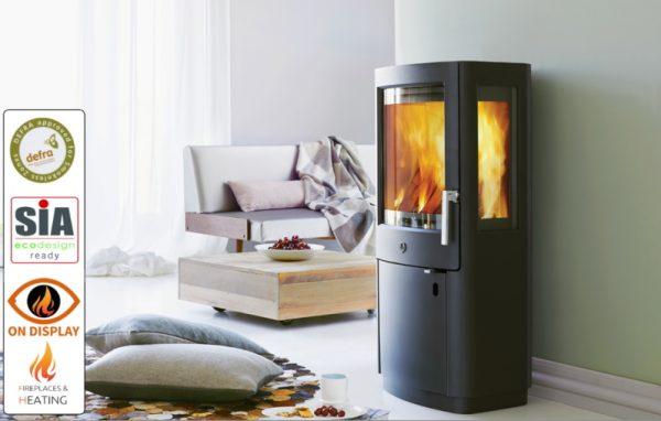 Varde Uniq 1 woodburner DEFRA 2022 Luton Bedfordshire