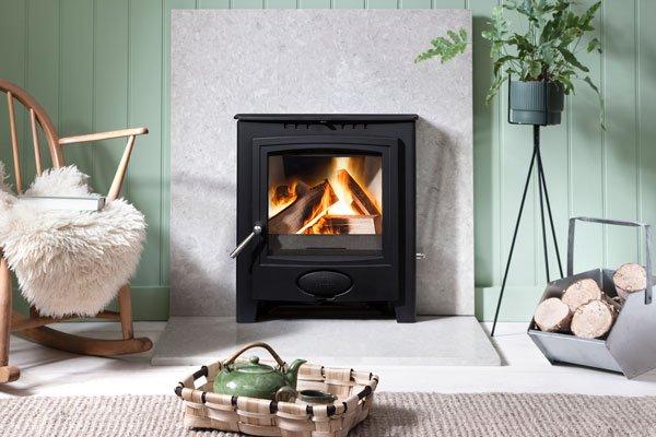 Arada Ecoburn plus inset stove - Luton