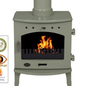 carron 4-7kw stove defra approved on display in luton bedfordshire