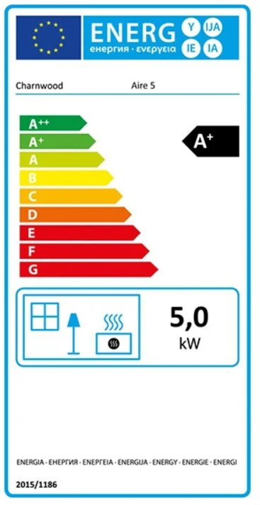 charnwood aire energy label