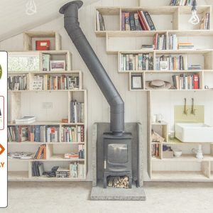 charnwood c four stove DEFRA SIA 2022 Ecodesign - displayed in Luton,bedfordshire