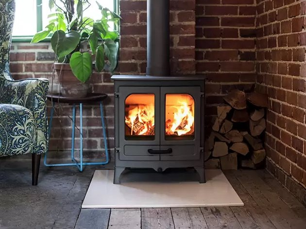 charnwood double door stoves