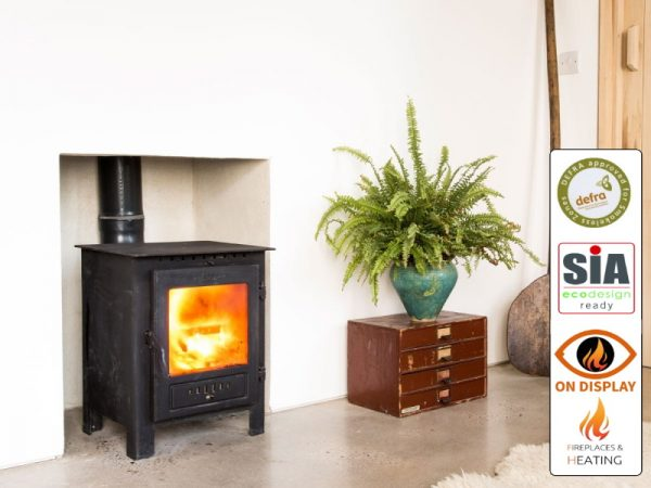 esse one woodburner defra 2022 in Luton