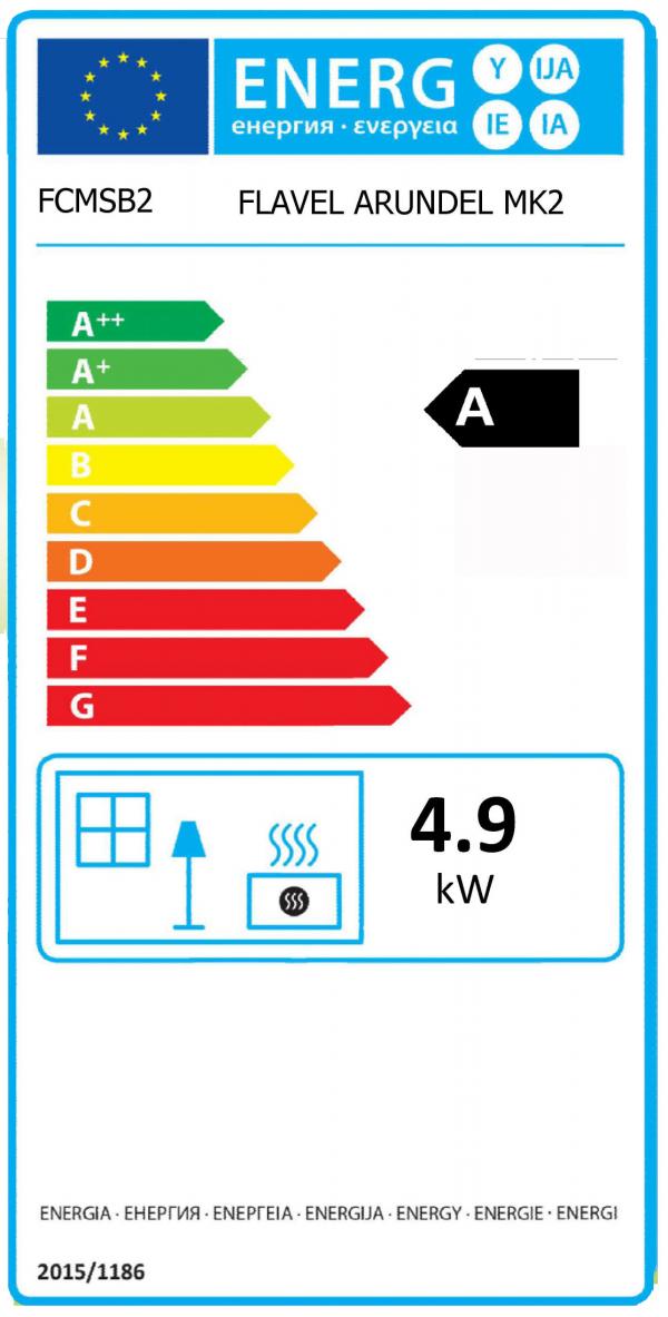 Flavel Arundel Energy label