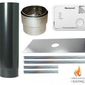 5 inch diameter stove installation kit