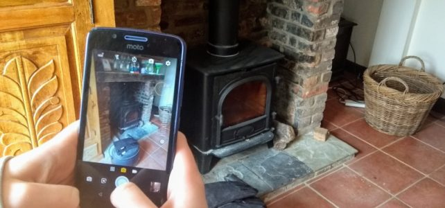 virtual survey for fire installations