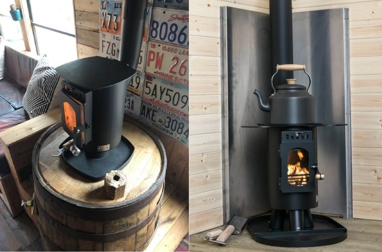 man cave stoves to upgrade the garden shed