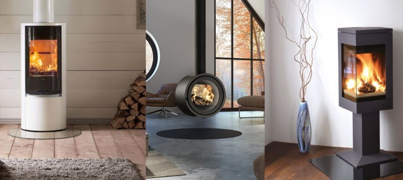 Wood burners and stoves for extensions and garden rooms - Nordpeis, Contura and Dik Guerts