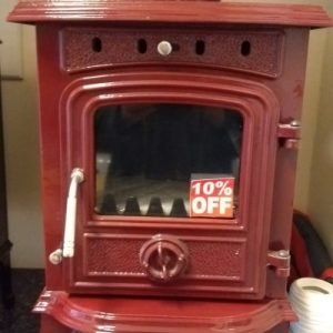 4.5KW stove multifuel little red