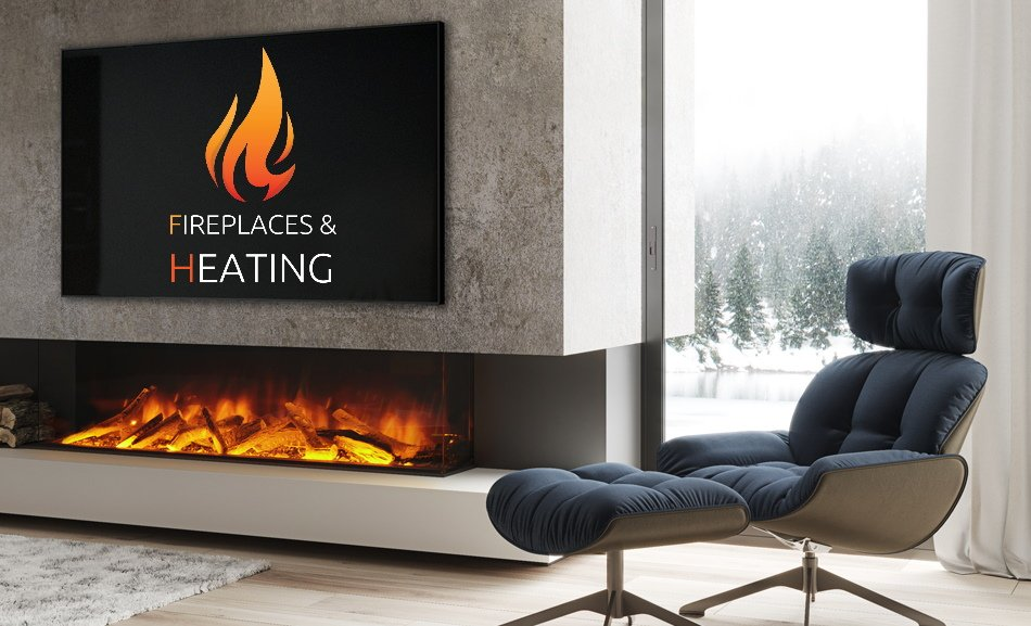 Media wall electric fireplaces fitted in Luton